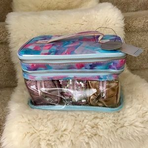 4 piece travel set from Nordstrom's